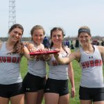 Girls Smash 39-Year-Old Sprint Relay Record, Place 3rd at Edison Invite