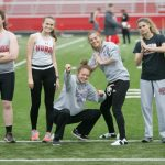 Tiger Track Teams Honor Seniors At Bellevue Dual