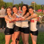 Two School Records Highlight Day 1 of District Track Championships