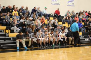 Boy's Basketball Sectional Game (credit to Kennedy Roberts)