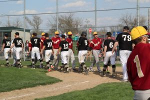 Baseball Double Header v River Forest (credit Kennedy Roberts)