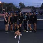 Girl's Tennis is Highland JV Tournament Champions!!