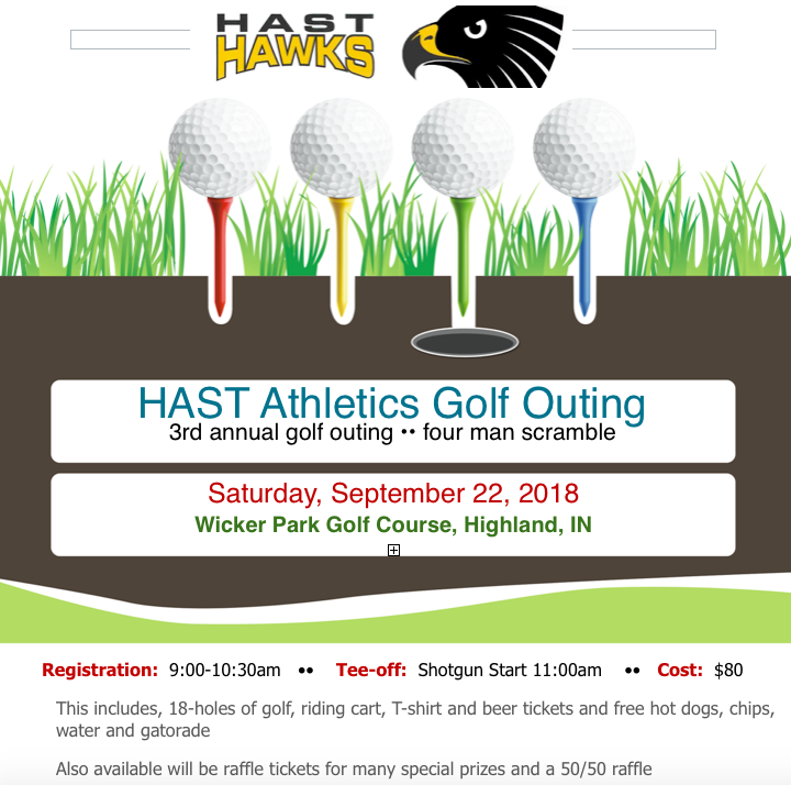 3rd Annual HAST ATHLETICS GOLF OUTING