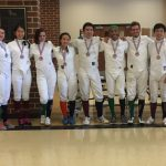 Fencing Club: Wen wins Gold!