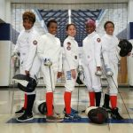 Fencing Club Shines in 1st North Springs Tournament