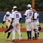 North Springs High School Varsity Baseball beat Lithia Springs High School 14-2