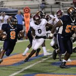 Football Falls to Carver in Final Minute
