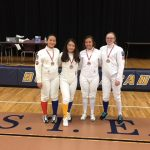 Fencing Team Has Great Showing at BEST Academy Tournament