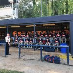 Varsity Baseball Gets a Visit from Sandy Springs Fire Chief