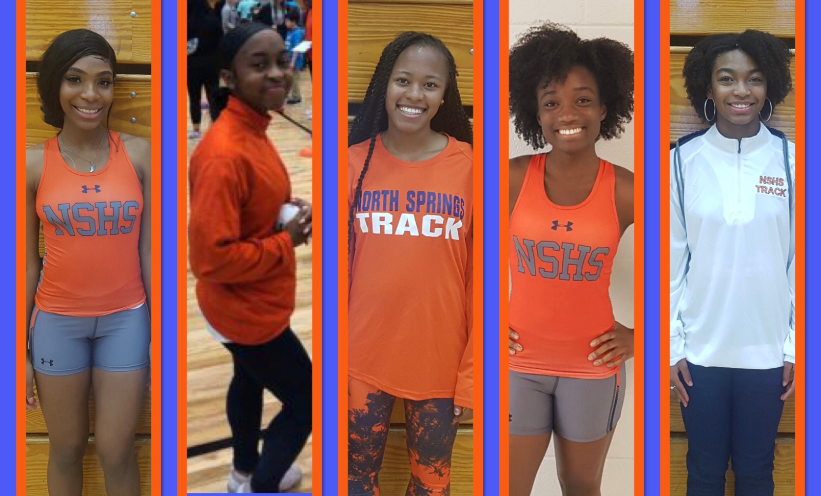 Spotlight on North Springs Girls Track Seniors