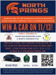 North Springs Athletics Fundraiser – Win a Car!!
