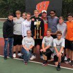 Boys Varsity Tennis finishes 1st place at Wabash Invitational