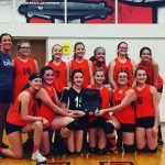 Girls 7th Grade Volleyball wins RRC Championship