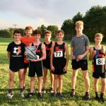 Boys Middle School Cross Country finishes 1st place at Southwood Invitational