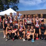Boys Middle School Cross Country finishes 1st place at IWU Invitational