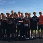 Boys Middle School Cross Country Win Conference Championship