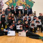Boys Varsity Wrestling finishes 1st place at IHSAA Sectional