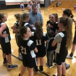 6th Grade Girls Basketball coasts past Columbia Middle School