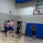 6th Grade Lady Apaches Run Away From The Competition, Beating Whitko 46-9