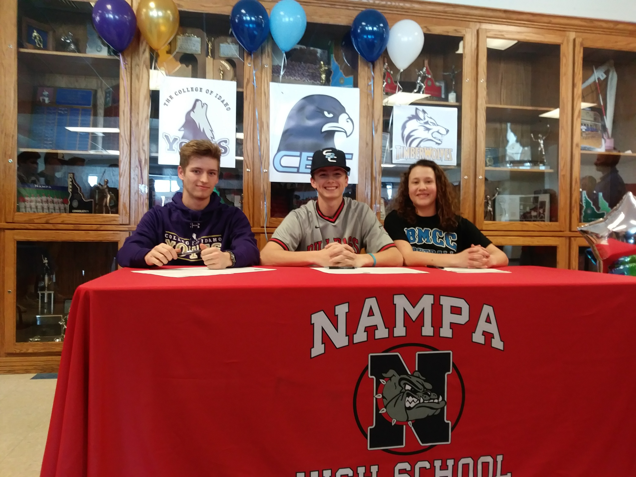 Nampa Prep Athletes Sign with Colleges