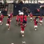 Nampa Cheer Competes at District Competition