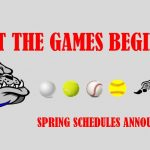 Spring Schedules – Printable