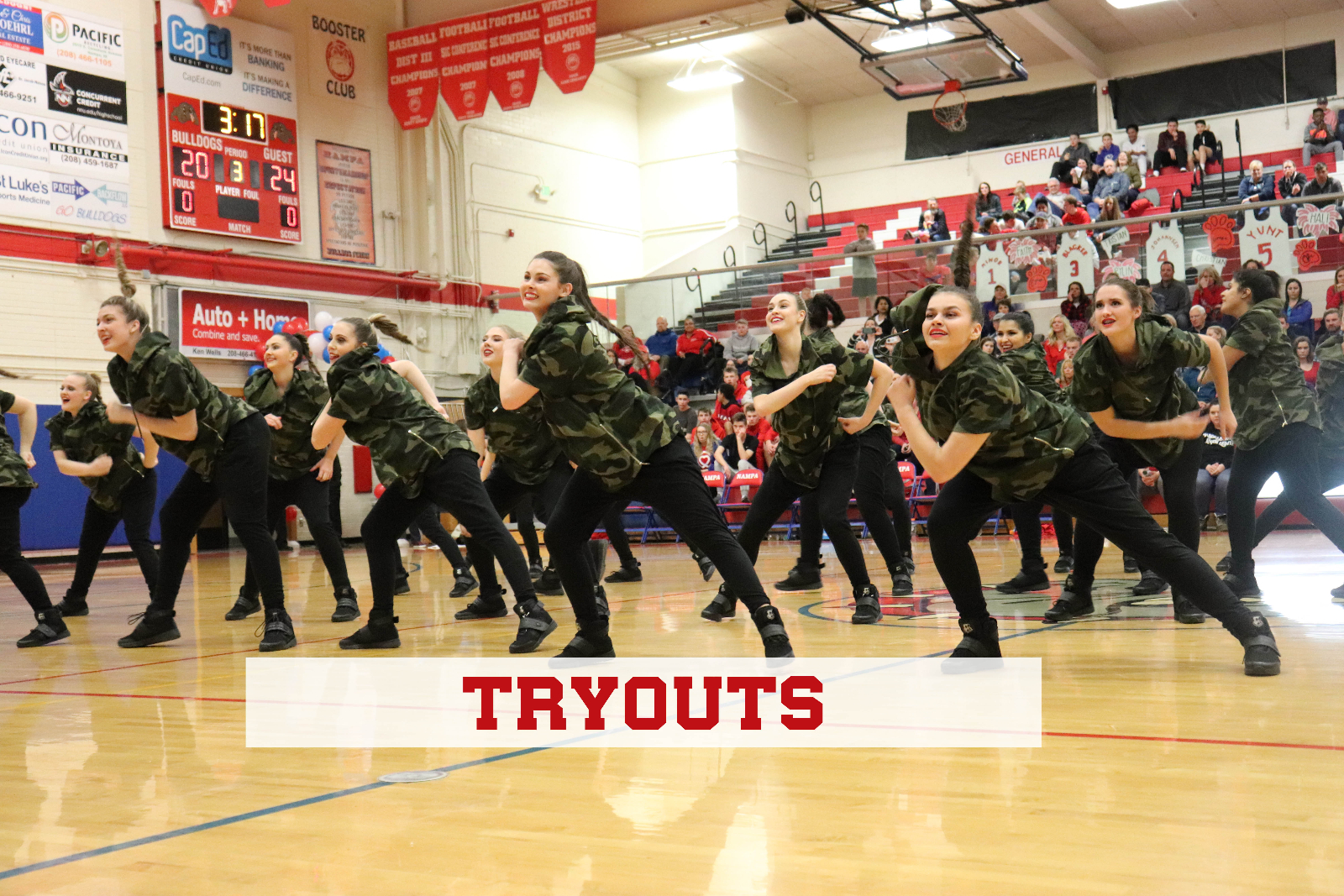 Dance Tryouts – Information 2019-20