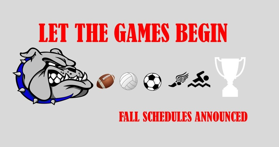 Fall Schedules 2019 – Announced