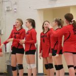 Girls Sophomore Volleyball vs Columbia 2019-20