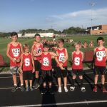 Boys Middle School Cross Country finishes 2nd place at Wabash County Invitational
