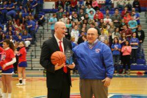 Coach Teagle celebrating 300th career win!