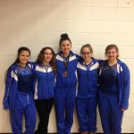 Jay County High School Girls Varsity Gymnastics finishes 6th place