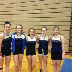 Jay County High School Girls Varsity Gymnastics finishes 9th place