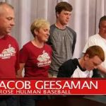 JACOB GEESAMAN SIGNS WITH ROSE HULMAN!