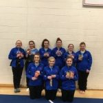 Girls Varsity Gymnastics finishes 1st place at Marion High School @ Marion High School
