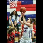 Girls Varsity Basketball beats Bluffton 66 – 37