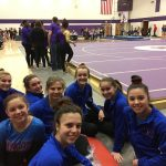 Girls Varsity Gymnastics finishes 2nd place at Northwestern Sr High School @ Northwestern Sr High School