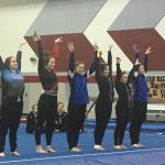Girls Varsity Gymnastics finishes 2nd place at Huntington North High School @ Huntington North High School