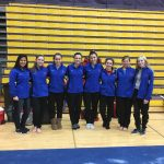 Girls Varsity Gymnastics finishes 4th place at Marion High School @ Marion High School