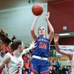 Girls Varsity Basketball falls to Sectional 57 – 45