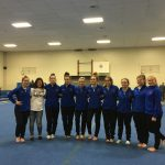 Girls Varsity Gymnastics finishes 2nd place at Jay County High School @ Jay County High School