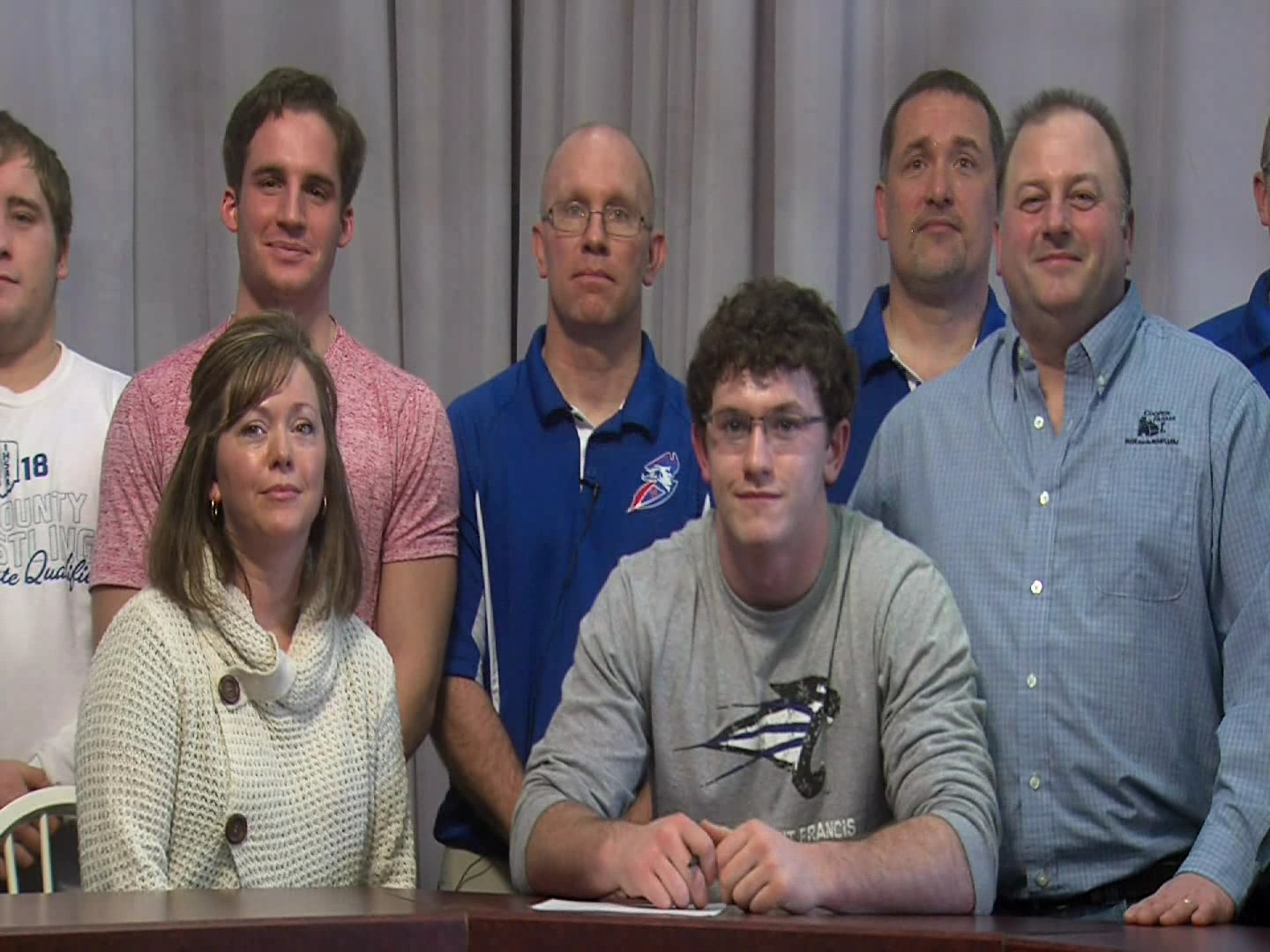 ETHAN THEURER SIGNS WITH ST. FRANCIS!
