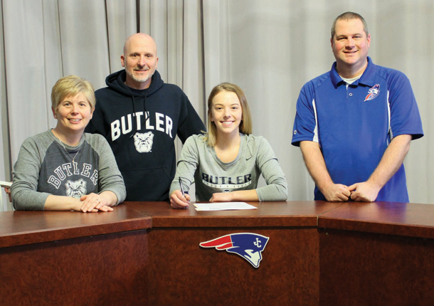 LUCY LAUX SIGNS WITH BUTLER!