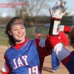 Girls Varsity Softball beats Woodlan Jr/sr 5 – 4