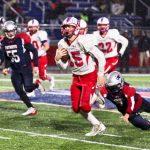 Boys Varsity Football beats Heritage Jr/sr 42 – 20
