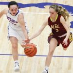 Girls Varsity Basketball beats Alexandria-Monroe 69 – 27
