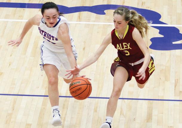 Girls Varsity Basketball beats Alexandria-Monroe 69 – 27