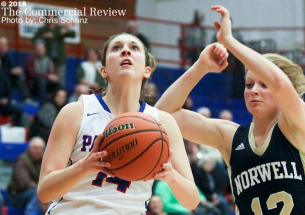 Girls Varsity Basketball beats Norwell 57 – 54