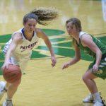 Girls Varsity Basketball falls to New Castle 60 – 47