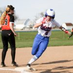 Girls Varsity Softball beats Coldwater 9 – 6